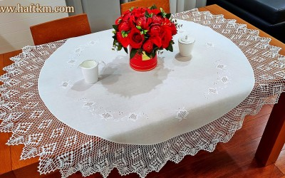 "Exclusive tablecloth ""Toledo roses"""